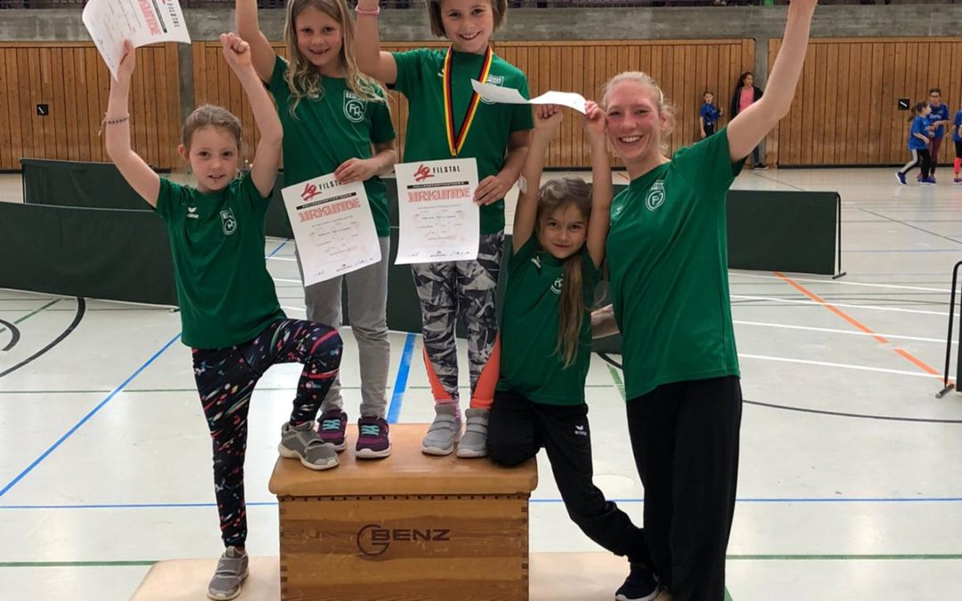 Die Frisch Auf Leichtathletikabteilung erfolgreich bei der Spitzenbergiade